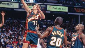 Platz 8: Seattle SuperSonics 1994/95 - Offensivrating: 114,8 - Aus in der ersten Playoffrunde gegen die Los Angeles Lakers (1-3)