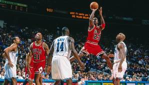 Platz 5: Chicago Bulls 1995/96 - Offensivrating: 115,2 - NBA Champion