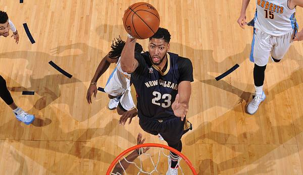 Bester Power Forward? Anthony Davis - 41 Prozent (Platz 2: LeBron James - 28 Prozent)