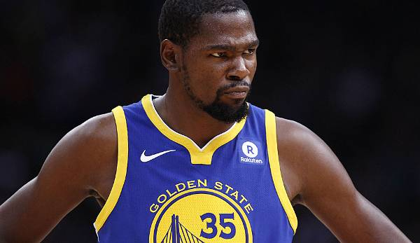 Platz 3: Kevin Durant (Golden State Warriors)