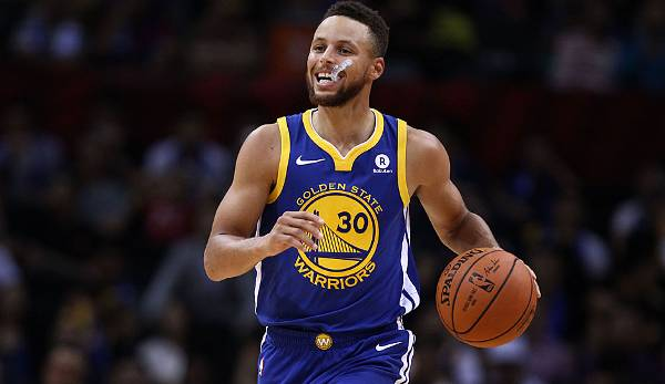 Platz 1: Stephen Curry (Golden State Warriors)