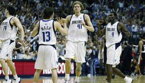 Platz 24: Dallas Mavericks 2002/2003 - Netrating 8,8 - Aus in den Western Conference Finals gegen Spurs (2-4)