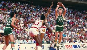 Platz 19: Boston Celtics 1985/86 - Netrating: 9,2 - Champion