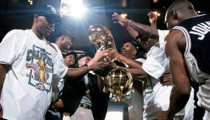 Platz 17: San Antonio Spurs 1998/99 - Netrating: 9,2 - Champion