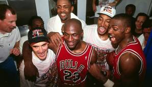 Platz 14: Chicago Bulls 1990/91 - Netrating: 9,4 - Champion