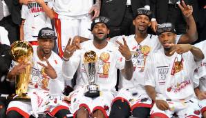 Platz 11: Miami Heat 2012/13 - Netrating: 9,9 - Champion