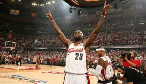 Platz 10: Cleveland Cavaliers 2008/09 - Netrating: 10,3 - Aus in den Conference Finals gegen die Magic (2-4)
