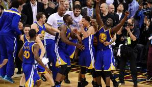 Platz 7: Golden State Warriors 2014/15 - Netrating: 11,4 - Champion