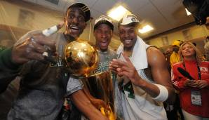 Platz 6: Boston Celtics 2007/08 - Netrating: 11,5 - Champion
