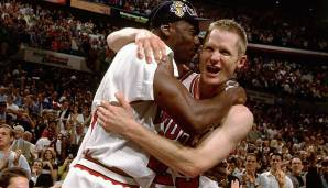 Platz 3: Chicago Bulls 1996/97 - Netrating: 12,0 - Champion