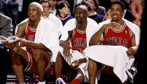 Platz 1: Chicago Bulls 1995/96 - Netrating: 13,4 - Champion