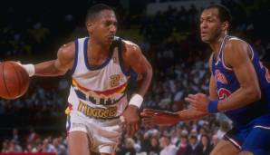 Platz 11: Alex English (Milwaukee Bucks, Indiana Pacers, Denver Nuggets, Dallas Mavericks, 1976-1991): 10.659 Field Goals