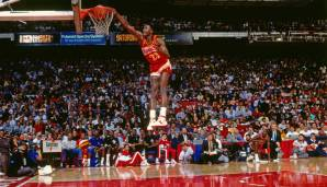 Platz 15: Dominique Wilkins (Atlanta Hawks, Los Angeles Clippers, Boston Celtics, San Antonio Spurs, Orlando Magic, 1982-1999): 9.963 Field Goals