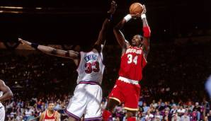 Platz 9: Hakeem Olajuwon (Houston Rockets, Toronto Raptors, 1984-2002): 10.749 Field Goals