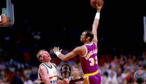 Platz 1: Kareem Abdul-Jabbar (Milwaukee Bucks, Los Angeles Lakers, 1969-1989): 15.837 Field Goals