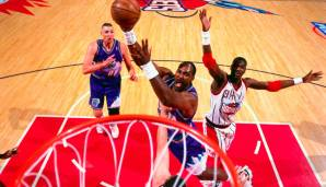 Platz 2: Karl Malone (Utah Jazz, Los Angeles Lakers, 1985-2004): 13.528 Field Goals