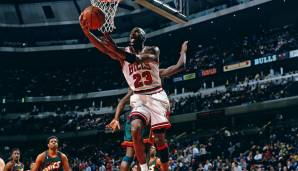 Platz 4: Michael Jordan (Chicago Bulls, Washington Wizards, 1984-2003): 12.192 Field Goals
