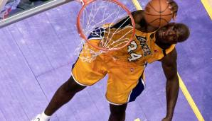 Platz 6: Shaquille O'Neal (Orlando Magic, Los Angeles Lakers, Miami Heat, Phoenix Suns, Cleveland Cavaliers, Boston Celtics, 1992-2011): 11.330 Field Goals