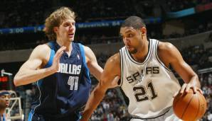 Platz 14: Tim Duncan (San Antonio Spurs, 1997-2016): 10.285 Field Goals