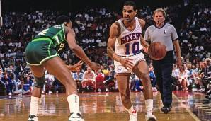 Maurice Cheeks (1978-1993 - Sixers, Spurs, Knicks, Hawks, Nets) - NBA Champion (1983), 4x All Star (1983, 1986-1988), 4x All-Defensive First Team (1983-1986), Defensive Second Team (1987)