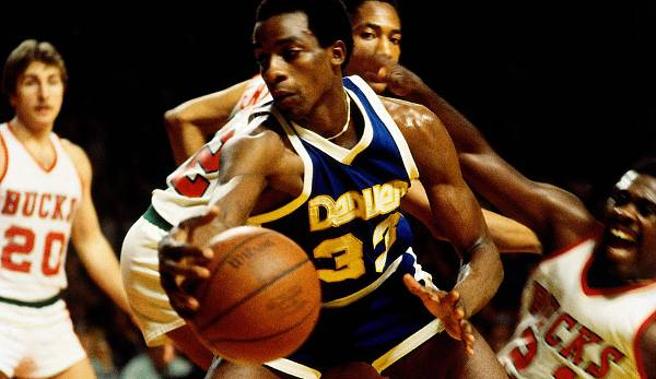 Denver Nuggets - David Thompson mit 73 Punkten am 9. April 1977 gegen die Detroit Pistons