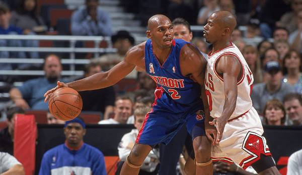 Detroit Pistons - Jerry Stackhouse mit 57 Punkten am 3. April 2001 gegen die Chicago Bulls