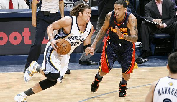 Memphis Grizzlies - Mike Miller mit 45 Punkten am 21. Februar 2007 gegen die Golden State Warriors