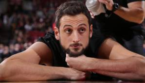 Platz 6 (aktiv): Marco Belinelli - 8 Teams in 10 Jahren (Warriors, Raptors, New Orleans Hornets, Bulls, Spurs, Kings, Charlotte Hornets, Hawks)