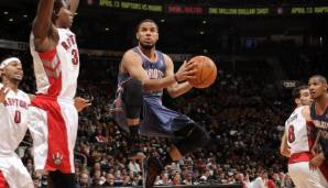Platz 6 (aktiv): D.J. Augustin - 8 Teams in 9 Jahren (Bobcats, Pacers, Raptors, Bulls, Pistons, Thunder, Nuggets, Magic)