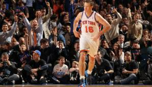 Platz 2 (aktiv): Steve Novak - 9 Teams in 11 Jahren (Rockets, Clippers, Mavericks, Spurs, Knicks, Raptors, Jazz, Thunder, Bucks) *aktuell vertraglos