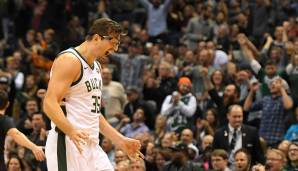 Platz 6: Mirza Teletovic (Milwaukee Bucks): 10,5 Millionen Dollar