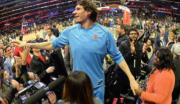 Platz 13: Boban Marjanovic (Los Angeles Clippers): 7,0 Millionen Dollar