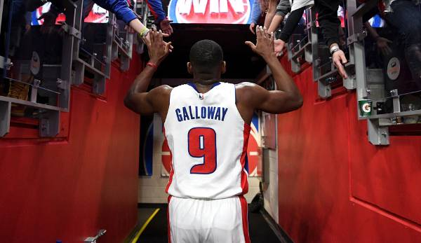 Platz 14: Langston Galloway (Detroit Pistons): 6,6 Millionen Dollar