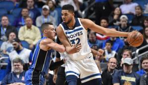 ... und Karl-Anthony Towns (Minnesota Timberwolves). Jede Menge Shooting also für Team Steph, dazu sind drei Warriors in einem Team. Und bei LeBron?