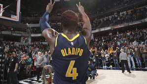 Platz 4: Victor Oladipo (Indiana Pacers) - 385.448 Stimmen