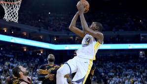 Platz 1: Kevin Durant (Golden State Warriors): 1.326.059 Stimmen