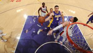 Platz 7: Lonzo Ball (Los Angeles Lakers) - 294.197 Stimmen