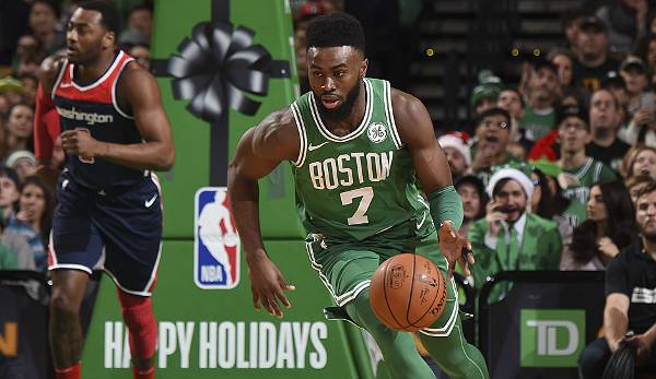 BACKCOURT OSTEN: Platz 10: Jaylen Brown (Boston Celtics) - 103.622 Stimmen