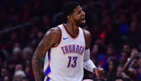 Platz 5: Paul George (Oklahoma City Thunder): 547.582 Stimmen