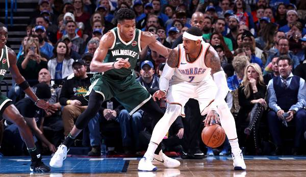 Platz 7: Carmelo Anthony (Oklahoma City Thunder): 378.718 Stimmen