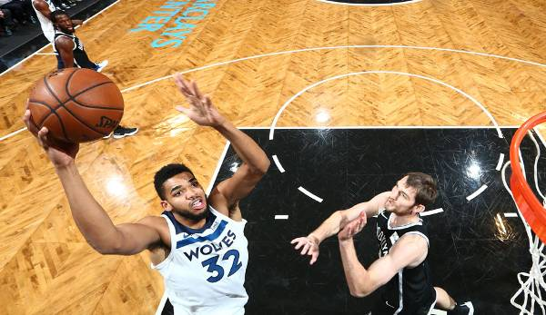 Platz 9: Karl-Anthony Towns (Minnesota Timberwolves): 320.884 Stimmen
