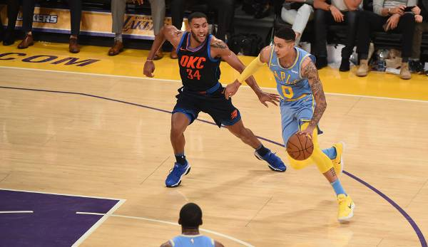 Platz 8: Kyle Kuzma (Los Angeles Lakers): 325.903 Stimmen