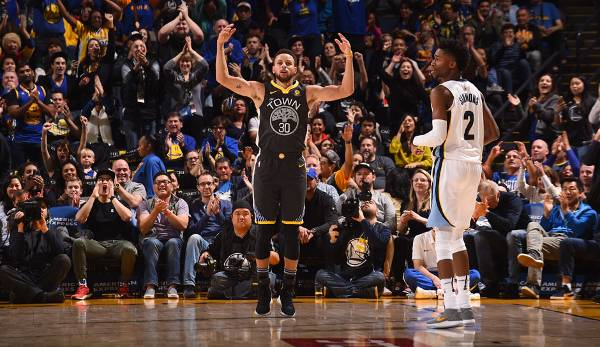 Platz 1: Stephen Curry (Golden State Warriors) - 1.369.658 Stimmen
