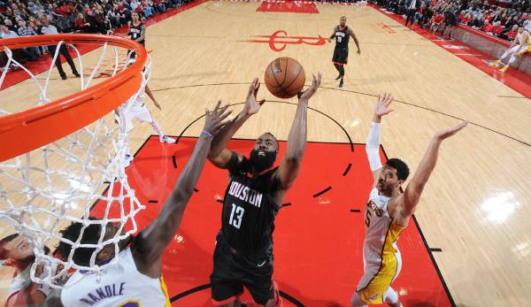 Platz 2: James Harden (Houston Rockets) - 978.540 Stimmen