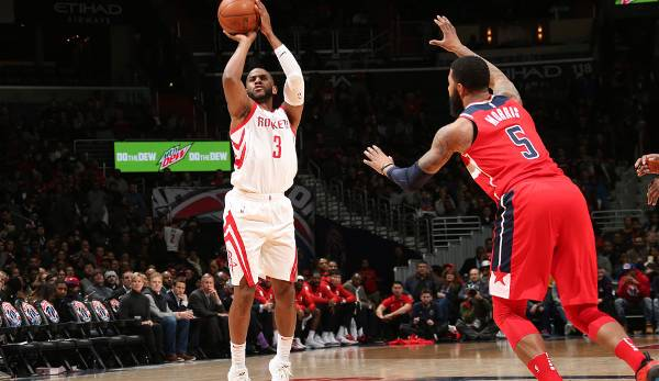 Platz 6: Chris Paul (Houston Rockets) - 331.522 Stimmen