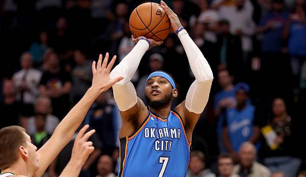 Carmelo Anthony (2003-heute, Nuggets, Knicks, Thunder) - 10x All-Star, Scoring Champion