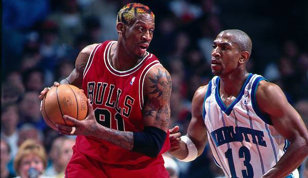 Dennis Rodman (1986-2000, Pistons, Spurs, Bulls, Lakers, Mavericks) - 2x All Star, 2 Defensive Player of the Year