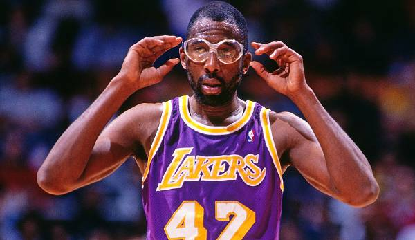 James Worthy (1982-1994, Lakers) - Finals MVP, 7x All Star