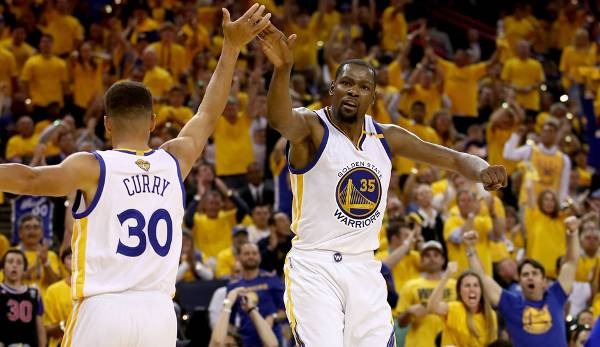 Platz 17: Kevin Durant - 60,5 Prozent in 106 Spielen (Oklahoma City Thunder, Golden State Warriors)