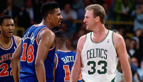 Platz 18: Larry Bird - 60,4 Prozent in 164 Spielen (Boston Celtics)